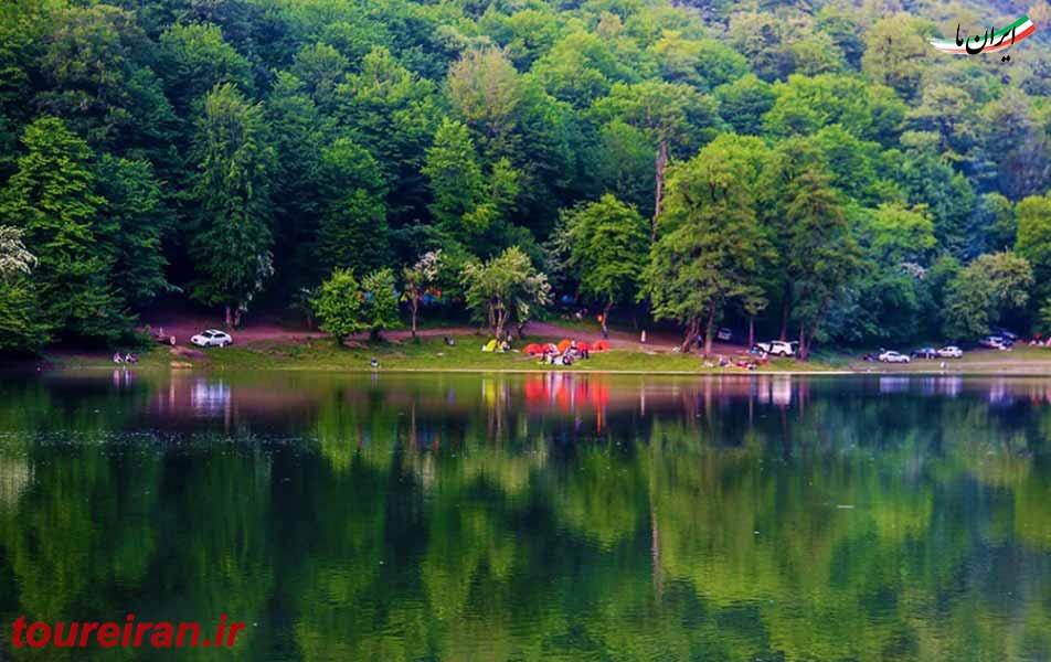 استقبال گردشگران از دریاچه چورت www.toureiran.ir